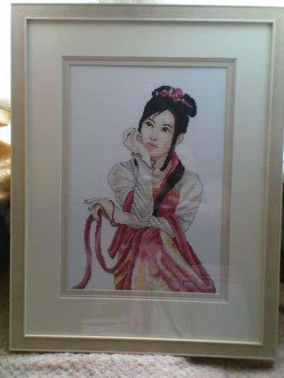 Вышивка японских мастеров