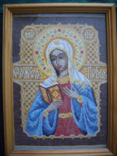 Вышивка бисером калужская божья матерь 82