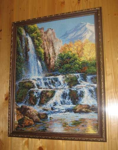 Вышивка водопад от юноны 87